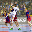 Handball match FC Barcelona vs Kiel — Stock Photo #38588207