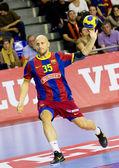 Handball player Konstantin Igropulo — Photo