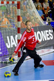 Handball match FC Barcelona vs Kiel — Stock Photo