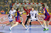 Handball match FC Barcelona vs Kiel — Photo