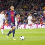 Dani Alves of FC Barcelona — Stock Photo #39068495