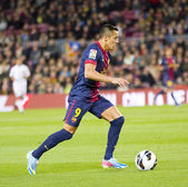 Alexis of FC Barcelona — Stock Photo