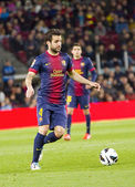Fabregas of FC Barcelona — Stock Photo