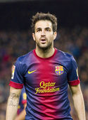 Fabregas of FC Barcelona — Foto Stock