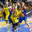 Basketball match Barcelonvs Maccabi — Stock Photo #39207955
