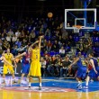 Basketball match Barcelonvs Maccabi — Stock Photo #39211045