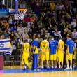 partido de baloncesto barcelona vs maccabi — Foto de Stock