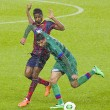 Alex Song of FC Barcelona — Stock Photo