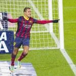 Постер, плакат: Alexis celebrating a goal