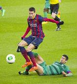 Cristian Tello in action — Stock Photo