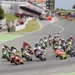 Moto Grand Prix race — Stock Photo