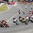 Постер, плакат: Moto Grand Prix race