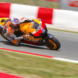 Casey Stoner racing — Stock Photo
