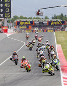 Moto Grand Prix race — Stock fotografie