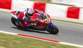 James Ellison racing — Stock Photo