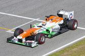 Formula 1 Adrian Sutil — Stock Photo