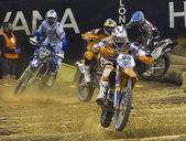Superenduro race — Stock Photo