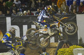 Superenduro race — Stockfoto
