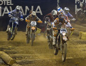 Superenduro závod — Stock fotografie