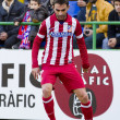 Постер, плакат: Adrian Lopez of Atletico de Madrid