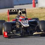 Formula 1 - Lotus Renault — Stock Photo #42297117