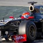 Formula 1 - Lotus Renault — Stock Photo #42297355