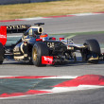 Formula 1 - Lotus Renault — Stock Photo #42297403