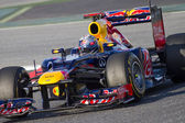Formula 1 - Sebastian Vettel — Stock Photo
