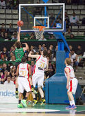 Nacho Llovet of Joventut in action — Stock Photo