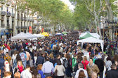 Sant Jordi in Barcelona, Spain — Stock Photo