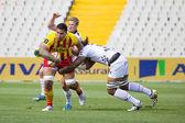 Azione di rugby — Foto Stock