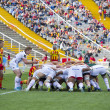 Rugby scrum action — Stock Photo #45323491