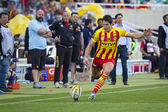 James Hook of USAP in action — Stock Photo
