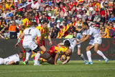 Rugby match USAP vs Toulon — Stock Photo