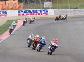 Motorbike race — Stock Photo