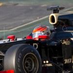 Romain Grosjean of Lotus Renault F1 — Stock Photo #46120013