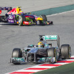 Formula 1 Lewis Hamilton — Stock Photo