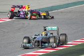 Lewis formula 1 hamilton — Foto Stock
