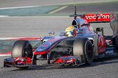 Lewis Hamilton — Stock Photo