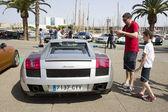 Lamborghini Gallardo — Stock Photo