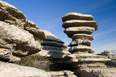 Torcal de Antequera — Stock Photo