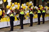 Police in Barcelona — Stock Photo