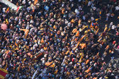 Demonstration for Catalonia independence — Stock Photo