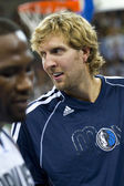Dirk Nowitzki of Dallas Mavs — Stock Photo