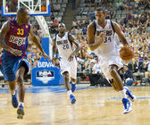 Brandan Wright of Dallas — Stock Photo