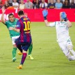 Leo Messi goal score — Stock Photo #51674567