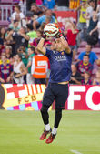 Claudio Bravo of FC Barcelona — Stock Photo