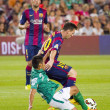 Leo Messi dribbling — Stock Photo #51688295