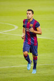 Xavi of FC Barcelona — Stock Photo