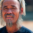 Portrait of man from Miao Nationality — Stock Photo